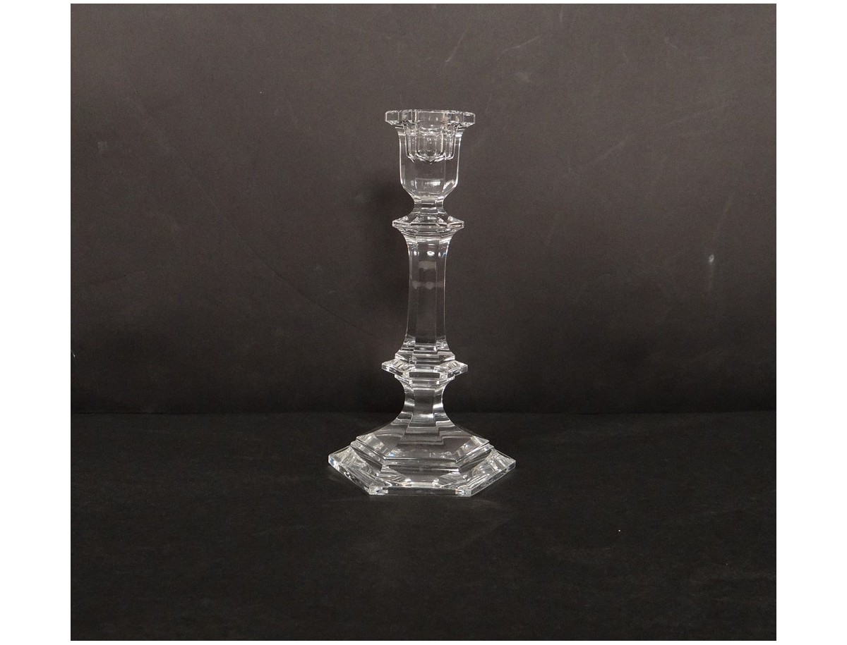 Bougeoir Cristal Baccarat Antique French Xx 232 Me Si 232 Cle